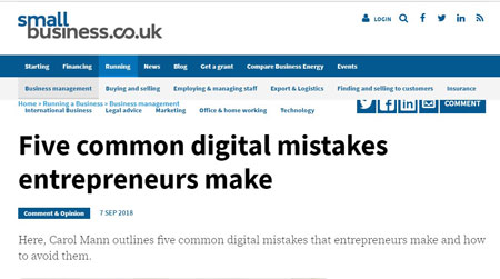 2018-09-7-five-common-digital-mistakes-entrepreneurs-make