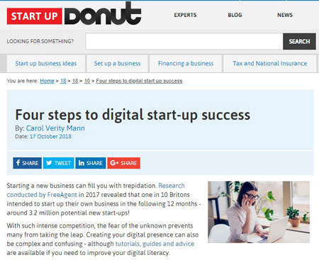 2018-10-17-start-up-donut-four-steps-to-digital-start-up-success