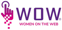 Women On the Web | WOW Logo